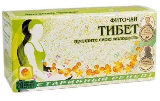 Тибет фиточай омолаживающий 1,5г 20 шт. фильтр-пакет соик, фото №1