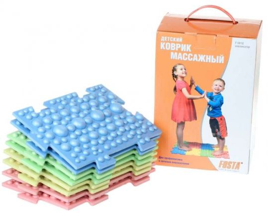 Фоста коврик массажный детский для лечения плоскостопия арт.f0810, фото №1