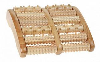 Тривес массажер для ног деревянный м-405