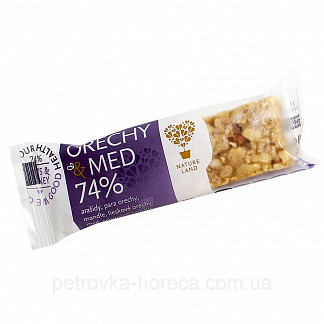 Текмар батончик-мюсли арахис/мед 35г