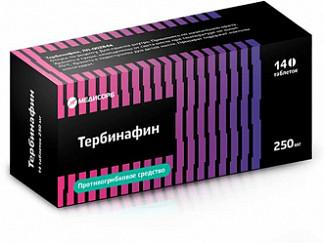Тербинафин 250мг 14 шт. таблетки