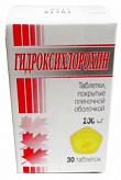 Гидроксихлорохин 200мг 30 шт. таблетки покрытые пленочной оболочкой .