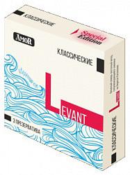 Амор презервативы классические пинк 3 шт.