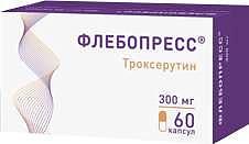 Флебопресс 300мг 60 шт. капсулы