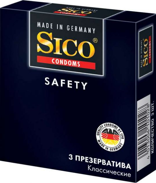 Сико презервативы сафети 3 шт., фото №1
