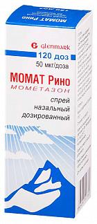 Момат рино 50мкг/доза 60доз спрей назальный дозированный