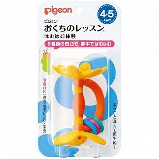 Пиджен (pigeon) прорезыватель игрушка 4+ цветок 1 шт.