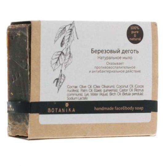 Ботавикос мыло натуральное березовый деготь 100г, фото №1