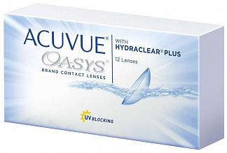 Акувью оазис линзы контактные r8.4 -7,50 12 шт.