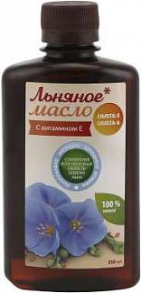 Азбука здоровья масло льняное 250мл