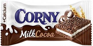 Корни (corny) батончик злаковый молочный с какао 30г