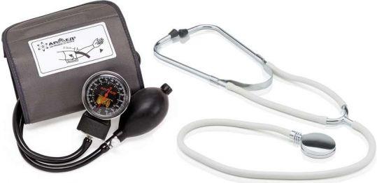 Армед тонометр механический медицинский с принадлежностями 3.02.008 черный, фото №1