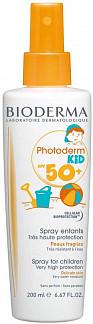 Биодерма фотодерм кид спрей очень высокая защита spf50+ 200мл