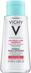 Виши пюрте термаль вода мицеллярная с минералами для чувствительной кожи 100мл