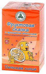 Фруктовая сказка чайный напиток детский апельсин 20 шт. фильтр-пакет