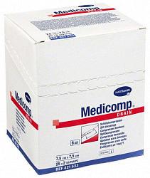 Хартманн медикомп салфетки марлевые стерильные 7,5х7,5см 50 шт.