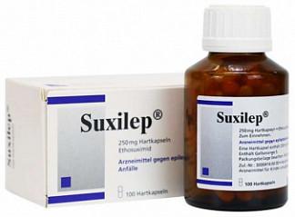 Суксилеп 250мг 100 шт. капсулы