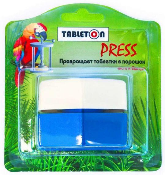 Таблетон пресс-измельчитель таблеток с местом для хранения, фото №1