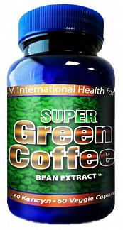 Супер грин кофе капсулы 515мг 60 шт.