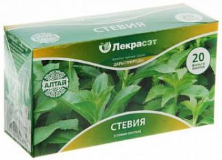 Стевии листья дары природы чайный напиток 1,5г 20 шт.