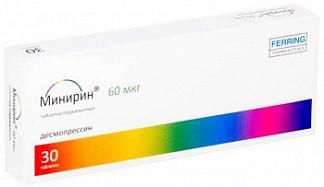 Минирин мелт 60мкг 30 шт. таблетки-лиофилизат