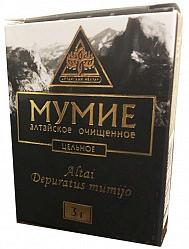 Мумие алтайское очищенное цельное 3г