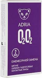 Адриа линзы контактные 0202 (-1,00)