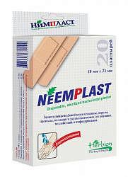 Нимпласт лейкопластырь бактерицидный 19х72мм 20 шт.