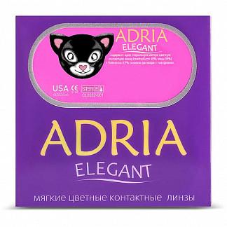 Адриа элегант линзы контактные мягкие цветные bc-8,6 -0,00