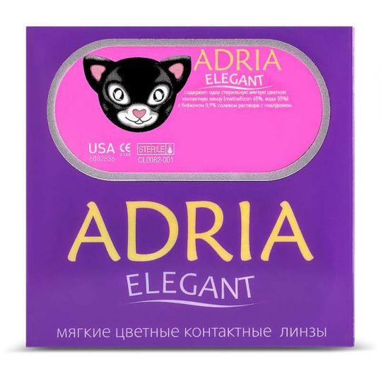 Адриа элегант линзы контактные мягкие цветные bc-8,6 -0,00, фото №1