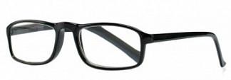 Кемнер оптикс очки корригирующие для чтения черные глянцевые +3,5