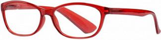 Кемнер оптикс очки корригирующие для чтения глянцевые красные пластик +1,0