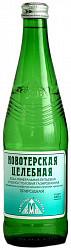 Новотерская элита вода минеральная газированная стекло 0,5л