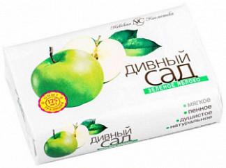 """Мыло """"дивный сад"""" зеленое яблоко 90г"""