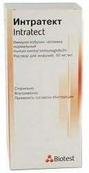 Интратект 50мг/мл 20мл 1 шт. раствор для инфузий
