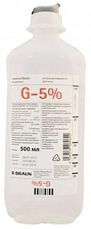 Глюкоза браун 5% 500мл раствор для инфузий b.braun melsungen