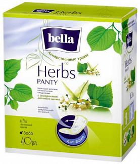Белла панти хербс прокладки ежедневные липа 40 шт.