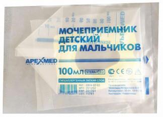 Апексмед мочеприемник детский для мальчиков 1 шт.