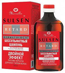 Мирролла сульсен ретард шампунь против перхоти безсульфатный 250мл