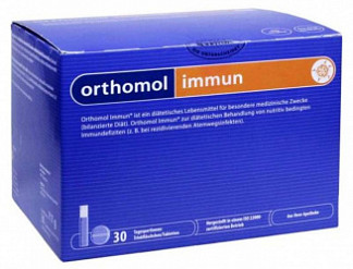 Ортомол иммун флакон с жидкостью + таблетки 30 шт.