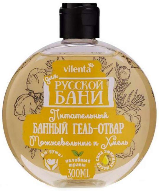 Вилента для русской бани гель-отвар банный питательный можжевельник/хмель 300мл, фото №1