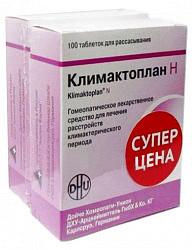 Климактоплан н 100 шт. таблетки для рассасывания гомеопатические 1+1