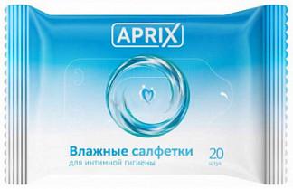 Априкс салфетки влажные для интимной гигиены 20 шт.