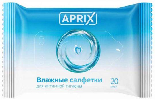 Априкс салфетки влажные для интимной гигиены 20 шт., фото №1