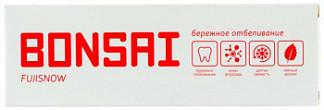 Бонсай зубная паста бережное отбеливание фуджисноу 105г