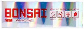Бонсай зубная паста для курильщиков антиникотин 105г