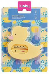 Лабби термометр для ванной уточка арт.15847
