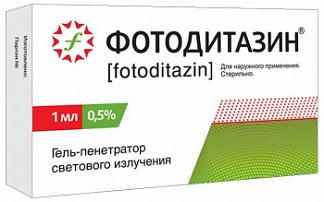 Фотодитазин гель-пенетратор светового излучения 0,5% 1мл