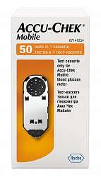 Тест-кассета акку-чек мобайл №50