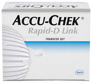Акку-чек репид-д линк набор удлинитель для системы 70см 10 шт.